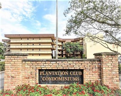 Plantation Condo For Sale: 6755 W Broward Blvd #405