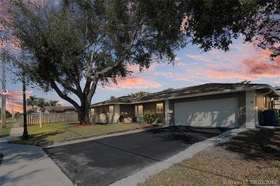 Sunrise Single Family Home For Sale: 8301 Sunset Strip