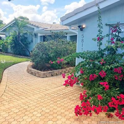Fort Lauderdale Single Family Home For Sale: 5811 NE 22nd Ter