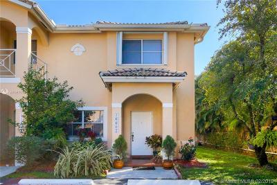 Miami Lakes Condo Sold: 16607 NW 73rd Ct