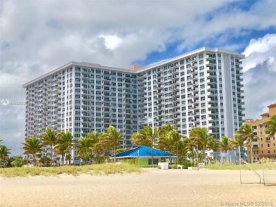 Pompano Beach Condo For Sale: 405 N Ocean Blvd #227