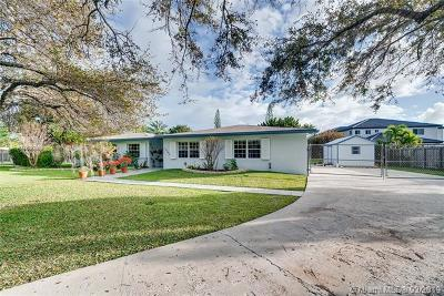Miami Single Family Home For Sale: 12990 SW 191st Ter