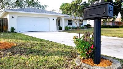 Delray Beach Single Family Home For Sale: 330 Ross Dr