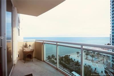 Hollywood Condo For Sale: 3001 S Ocean Dr #1413