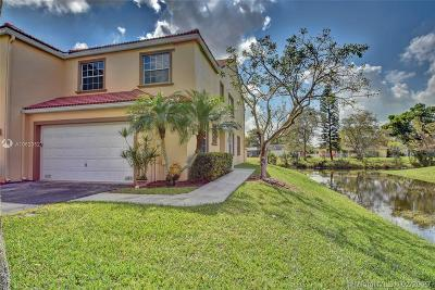 Coral Springs Condo Active With Contract: 9688 Royal Palm Blvd #9688