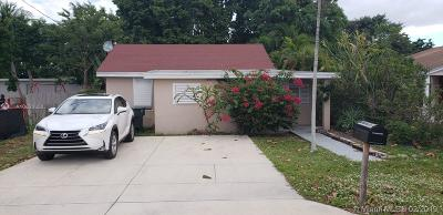 Hallandale Single Family Home Sold: 109 SW 2nd Ave