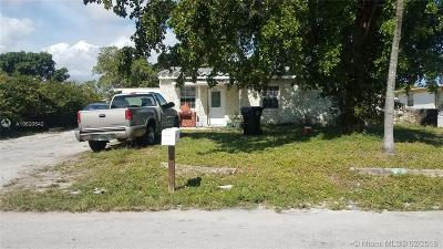 Fort Lauderdale Single Family Home For Sale: 1619 NW 13th St