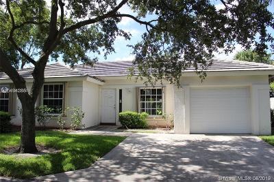Pompano Beach Single Family Home For Sale: 3538 Sahara Springs Blvd