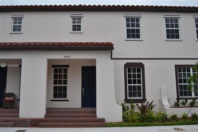 Miami-Dade County Condo For Sale: 9444 SW 171st Ave #9444