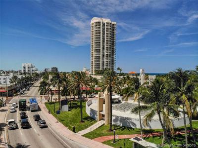 Miami Beach Condo For Sale: 7330 Ocean Ter #9-D