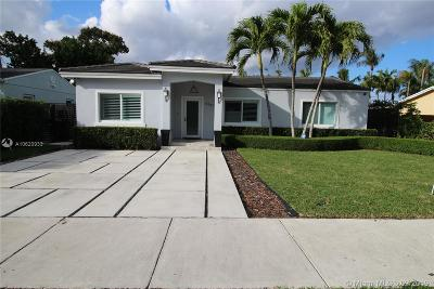 South Miami Single Family Home For Sale: 6347 SW 44th St