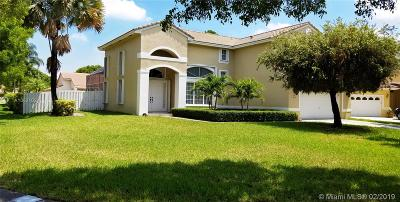 Miramar Single Family Home For Sale: 14881 SW 45th Ct