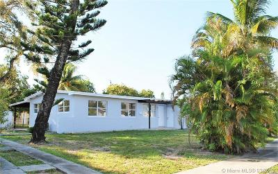 West Park Single Family Home Active With Contract: 3310 SW 37th St