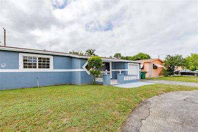 Miramar Single Family Home Sold: 7772 Dilido Blvd