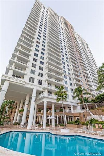 Condo For Sale: 801 Brickell Key Blvd #1704