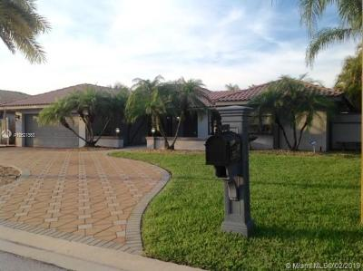 Coral Springs Single Family Home For Sale: 6611 NW 47th St