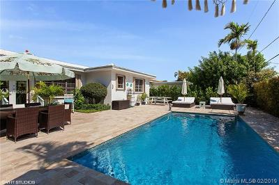 Miami Beach Single Family Home For Sale: 340 N Shore Dr