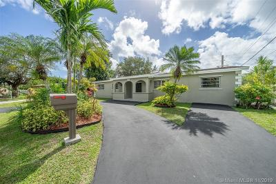 South Miami Single Family Home For Sale: 6230 SW 63rd Ter