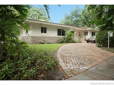 Coral Gables Single Family Home For Sale: 1039 Mariposa Av