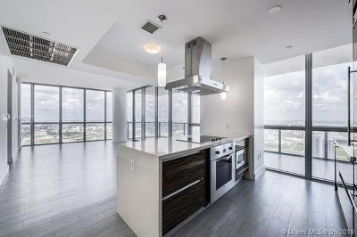 Marquis Condo, Marquis Condominium, Marquis Residences Rental For Rent: 1100 Biscayne Blvd #4805