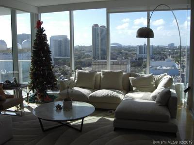 Miami Condo For Sale: 1040 Biscayne Blvd #1107