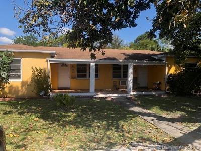 North Miami Multi Family Home For Sale: 925 NE 122nd St