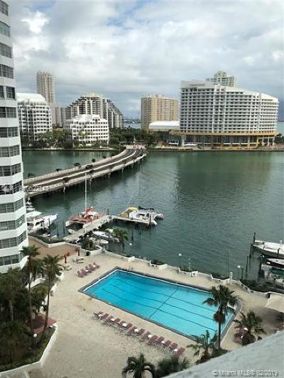 Miami Rental Active With Contract: 905 Brickell Bay Dr #1121