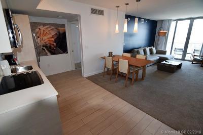 Beachwalk, Beachwalk Condominium, Beachwalk Condo Rental For Rent: 2602 E Hallandale Beach Blvd #R2707