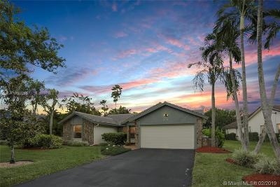 Coral Springs Single Family Home For Sale: 331 NW 107th Avenue