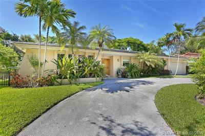 Coral Gables Single Family Home For Sale: 140 W Sunrise Ave