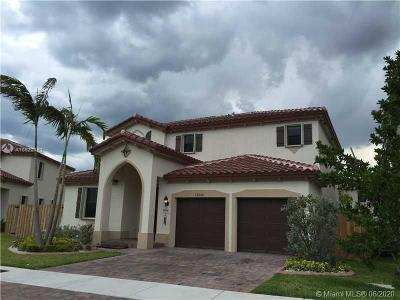 Miami Single Family Home For Sale: 17650 SW 154th Pl