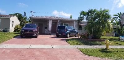 Oakland Park Single Family Home For Sale: 5148 NE 3rd Ter