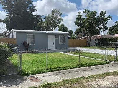 Miami Single Family Home For Sale: 3546 NW 99th St