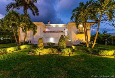 Coral Gables Single Family Home For Sale: 6901 Sunrise Pl