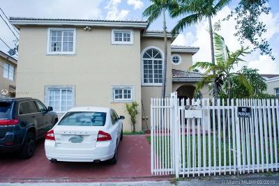 Miami Single Family Home Active With Contract: 720 NW 18th Pl