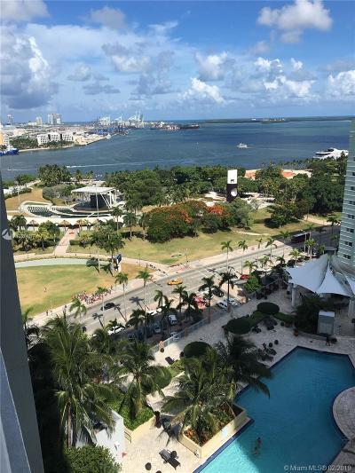 Miami Rental For Rent: 244 Biscayne Blvd #1807