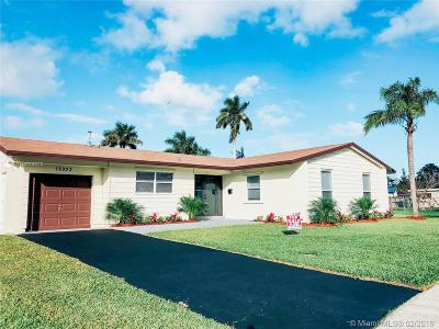 Cutler Bay Single Family Home For Sale: 18923 SW 94th Ave