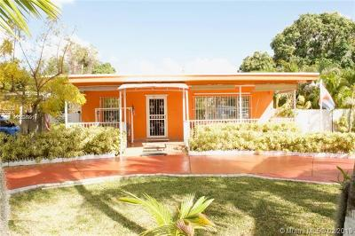Miami Single Family Home For Sale: 10851 NW 22nd Ct