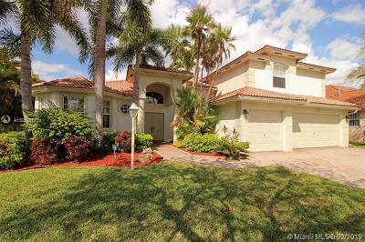 Pembroke Pines Single Family Home For Sale: 13813 NW 21st St