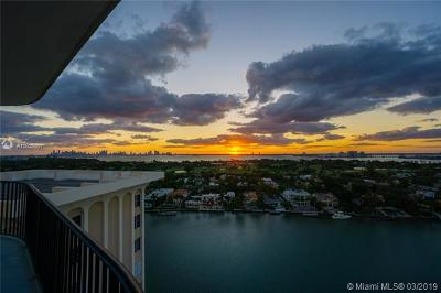 Miami Beach Condo For Sale: 5660 Collins Ave #18D