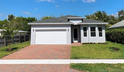 Boynton Beach Single Family Home For Sale: 327 SW 2nd Ave