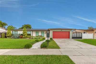Single Family Home For Sale: 14251 SW 74th St