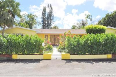Single Family Home For Sale: 9500 SW 92nd St