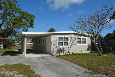 Fort Lauderdale Single Family Home For Sale: 250 NW 29th Ter