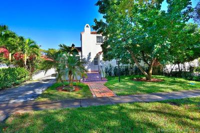 Coral Gables Single Family Home For Sale: 809 Valencia Ave