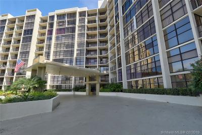 Hallandale Condo For Sale: 600 Parkview Dr #719