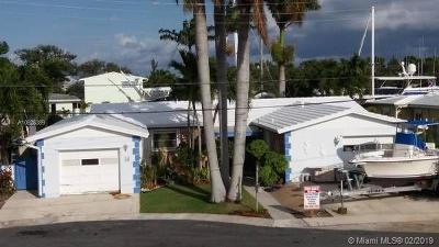 Dania Beach Single Family Home For Sale: 342 NE 2nd Ct