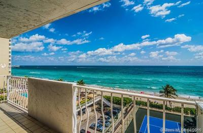Hallandale Condo For Sale: 1912 S Ocean Dr #14D