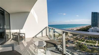 Miami Beach Condo For Sale: 2201 Collins #1607