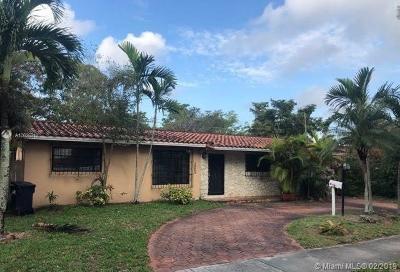 Miami Lakes Single Family Home Sold: 14440 Harris Pl